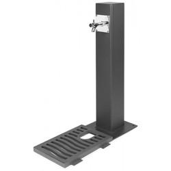 Fontaine acier Giverny 1 robinet