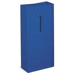 Sac en toile plastifiée 120 L bleu pour chariot de ménage et lavage
