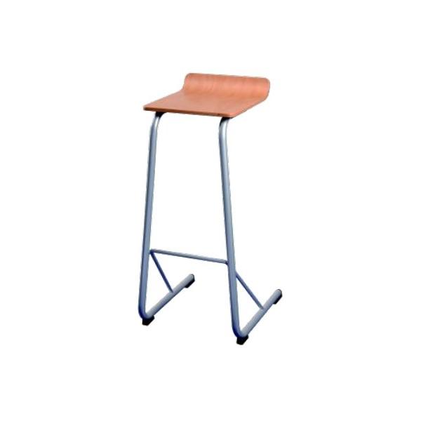 Tabouret de bar appui sur table hêtre naturel Lavaur