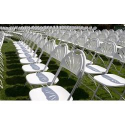 Lot de 8 chaises pliantes Marion M4