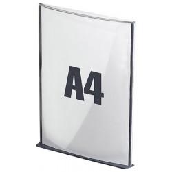 5 Plaques de signalisation A4 anthracite