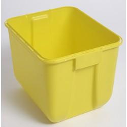 Fut à déchets étanche Dasri jaune 30L