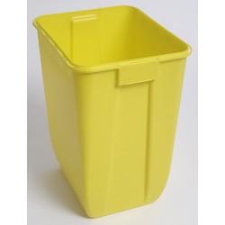 Fut à déchets étanche Dasri jaune 50L