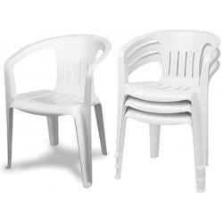 Lot de 25 fauteuils résine empilables Hélios