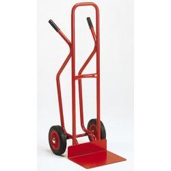 Diable dossier haut roues increvables  (charge 200 kg)