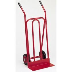 Diable spécial transporteur pelle fixe roues dures (charge 250 kg)