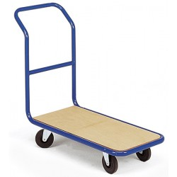 Chariot magasin dossier fixe plateau bois (charge 250 kg)