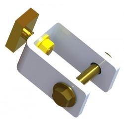 Pièces de fixation du système de relevage pour 2 buts alu (le jeu de 4)