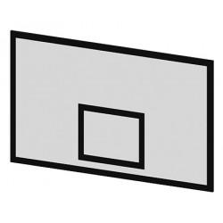 Panneau de basket  fibre de verre 180 x 105 cm