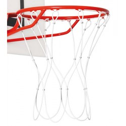 Filets de basket câble acier gainé 5 mm (la paire)