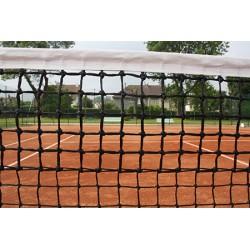 Filet de tennis 3 mm maille double bande sur le périmètre