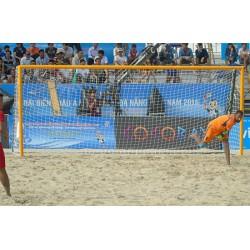 Buts de beach soccer dimensions 5,5 x 2,2 m avec ancrages (la paire)