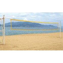 Filet de Beach volley 2 mm cordeau de tension