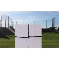 Filet de clôture pour terrain de golf câblé PE 1,5 mm maille 20 mm (prix au m²)