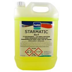 Détergent et liquide de rinçage Starmatic® 2 en 1 pour lave-vaisselles pro 5 kg