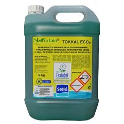 Nettoyant multi-surfaces amoniacale Ecolabel Naturbío® Tokkal ECOe 5 kg