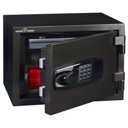 Coffre de sécurité ignifugé 60 min 15 L serrure électronique