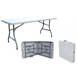 Table valise polypropylène Eco 183 x 76 cm