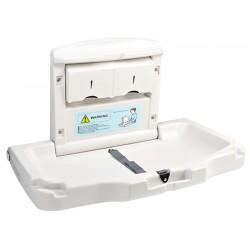 Table à langer modèle horizontal avec compartiment serviettes