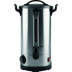 Distributeur d'eau ou vin chaud inox Pro 9 L