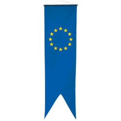 Oriflamme européenne maille polyester 115 g 80 x 300 cm