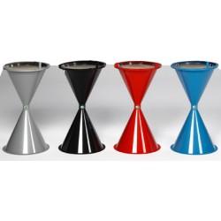 Cendrier sablier en plastique diam 42x72,2 cm