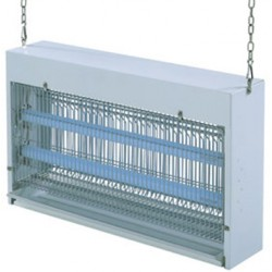 Désinsectiseur JVD GN2 inox 2x15W