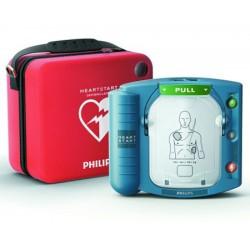 Défibrillateur automatisé HeartStart HS1 avec malette standard