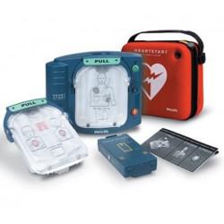 Défibrillateur automatisé HeartStart HS1 avec malette extra plate