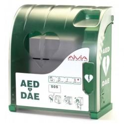 Armoire intérieure non connectée pour défibrillateur