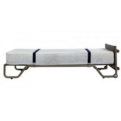 Matelas mousse HR 40 L190 x P90 x H21 cm pour lit d'appoint vertical