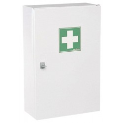 Armoire à pharmacie 1 porte en acier ROSSIGNOL Plus