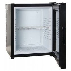 Minibar thermo-électrique noir 28L porte vitrée L38 x P38 x H47,5 cm