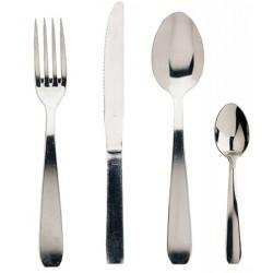 Couteau de table Brésil inox 18 % ép. 16/10e (le lot de 12)