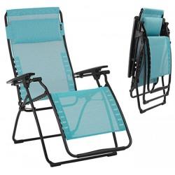 Relax Futura toile Batyline® bleu aqua