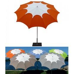 Parasol inclinable Crozon acier et dralon diam 250 cm
