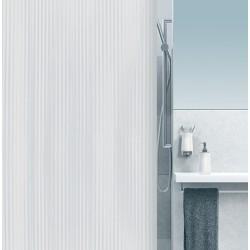 Rideau de douche Excellence 100% PVC imperméable sans anneaux blanc L180xH200 cm