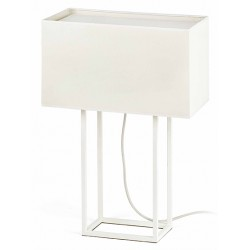 Lampe de table Vesper blanche