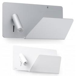 Applique liseuse droite Suau avec plateau et port USB