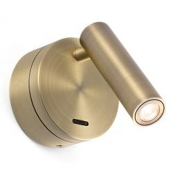 Applique liseuse Boc bronze