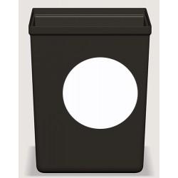 Insert blanc pour corbeilles Cube