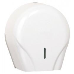 Distributeur de papier hygiénique 200 m en ABS blanc Optimum
