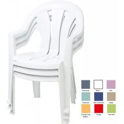 Lot de 20 fauteuils empilables Coutances
