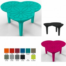 Table Altesse 100% recyclable 75 x 72,5 cm