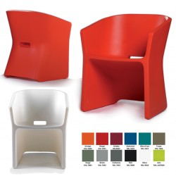 Fauteuil Sliced 100% recyclable