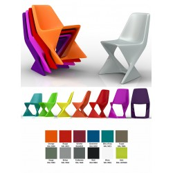 Chaise empilable Iso 100% recyclable