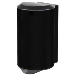 Sèche-mains compact anti-vandalisme 1200 W inox AISI 304 noir