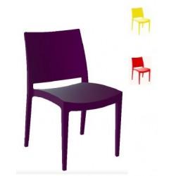 Lot de 30 chaises empilables polypropylène Barjac