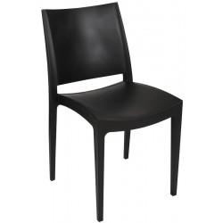 Lot de 30 chaises empilables polypropylène et fibre Cachy