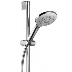 Barre de douche L600 mm avec douchette 3 jets Fraîcheur